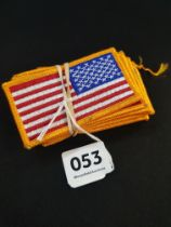 10 US ARMY FLAG PATCHES