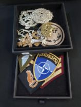 LARGE QUANTITY OF MILITARY BADGES AND PATCHES WW1 - PRESENT