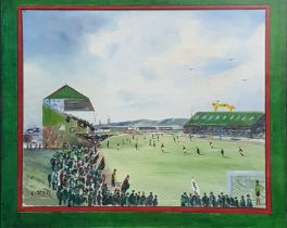 CECIL MAGILL - OIL - AT THE OVAL
