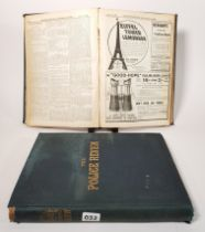 2 VOLUMES OF THE POLICE REVIEW 1899 AND 1900