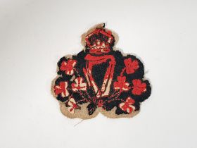 VERY EARLY KC 1903 PATTERN ROYAL IRISH CONSTABULARY HEAD CONSTABLES PATCH