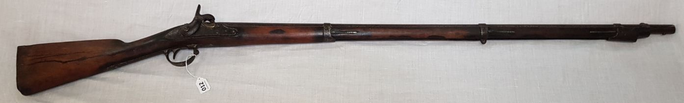 VICTORIAN PERCUSSION LONG RIFLE
