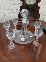 DECANTER + 6 GLASSES