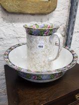 Victorian jug and bowl