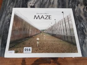 DONOVAN WYLIE - 2 VOLUMES OF PHOTOS OF INSIDE MAZE