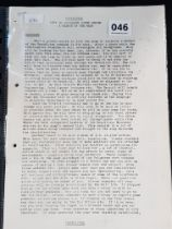 COPY OF DOCUMENTS FOUND DURING SEARCH OF THE MAZE PRISON