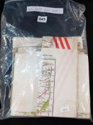 10 X WW2 ROYAL AIRFORCE MAPS