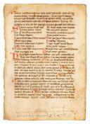 Boethius, De Consolatione Philosophiae, in Latin, decorated manuscript on parchment [Italy, first