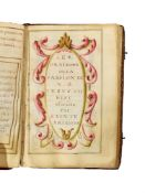 Ɵ Prayerbook containing the Fifteen Oes of St. Bridget of Sweden, Litanies of Christ and the Virgin
