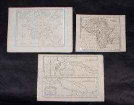 Ɵ MAPS: AFRICA. a group of three maps. (1764 - 1790). (3)