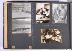 ALBUM: An album of over 100 photographs, Malta, Yemen, Hong Kong, Korea, (1951-53).