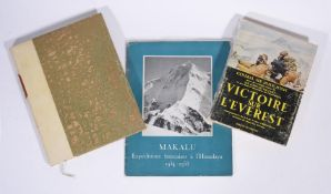 Ɵ HIMALAYAS: a group of Three SIGNED French editions. 1951-1954.