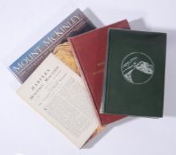 Ɵ MOUNT MCKINLEY: 3 SIGNED first editions, with a related SIGNED publication. 1908-1991. (4)