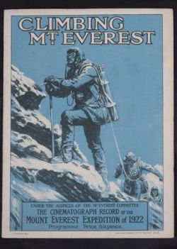 Travel including a single owner collection of books on Mountaineering