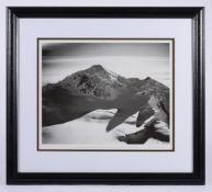 λ PHOTOGRAPH: BRADFORD WASHBURN. (1910-2007). Late Afternoon, Mount Fairweather, 1979. SIGNED.