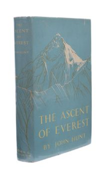 Ɵ HUNT, John. The Ascent of Everest, SIGNED by twelve team members. Hodder & Stoughton, 1953.