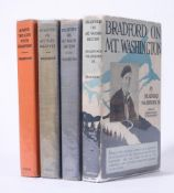 Ɵ WASHBURN, Bradford. Four Works: first editions, SIGNED by the author. G.P. Putman's Sons, 1927-193