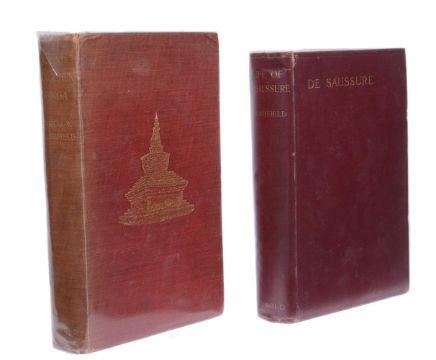 Ɵ FRESHFIELD, Douglas W. Two Works: Presentation copy, author's ALS, and one other,1903-1920. (4)