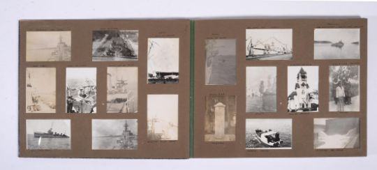 ALBUM: Naval tour of North and East Africa, and East Indies. 1928-31.