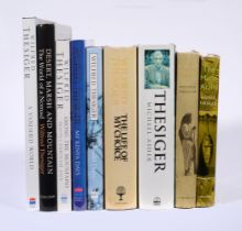 Ɵ THESIGER, W. Eight Works, and one related: five vols. SIGNED. London, 1959-2001. (9)