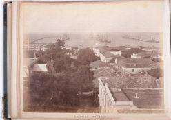 ALBUM: An album of 50 photographs, Australia, Sri Lanka, and Egypt. 1891.