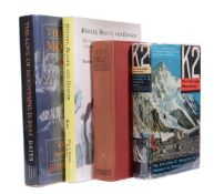 Ɵ BATES, Robert. HOUSTON, Charles, Four Works: SIGNED first editions,1939-1994.