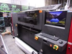 """EFI H1625 LED FLATBED PRINTER, 2014, WIDTH: 64"""", COLORS: 5, SOFTWARE TYPE EFI FIERY VERSION FX, FULL"""