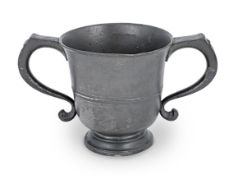 A George II twin-handled 'loving'-cup, circa 1750