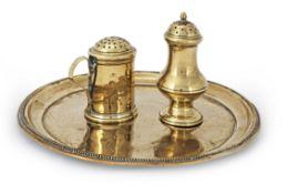 A brass salver (3)