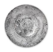 A rare Henry VIII broad rim plate, circa 1540