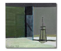 MERLIN JAMES (B. 1960) Easel Painting 1993