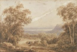 Attributed to Samuel Augustus Perry (London 1787-1854 Australia) A view believed to be towards th...