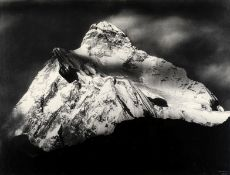SELLA (VITTORIO) 'Summit of Mt. Jannu at Sunset, Nepal 1899', [1899, printed later]
