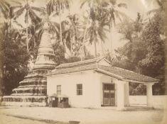 INDONESIA - PHOTOGRAPHY Album of 48 views in Aceh, Ambon Island, Surabaya, Jakarta, Singapore and...