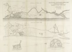 WHEELER (JAMES TALBOYS) Madras and its Environs in 1733 and 1862, Madras, Goverment Lithographic ...