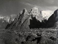SELLA (VITTORIO) View of Baltoro Towers (including Trango), Karakoram, [1909, printed later]