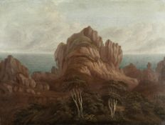 Follower of John Webber (British, London 1751-1793) A view believed to be a detail from the rever...