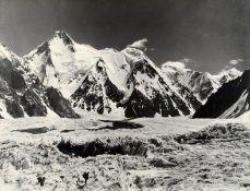 SELLA (VITTORIO) Gasherbrum I (or Hidden Peak); Chogalisa (or Bride Peak), a pair of views of the...