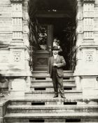 ROYALTY - KING OF SIAM Fine portrait of the King Rama V [Chulalongkorn], of Siam, standing in Eur...