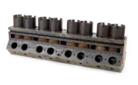 A Bugatti Type 57/57S engine block,