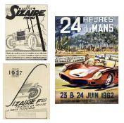 Three motoring posters, ((3))