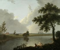 Follower of Richard Wilson, R.A (British , 1714-1782) Tabley House, Cheshire