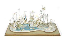 Frederick Rowland Emett (British, 1906-1990): A 1-inch scale model of Emett's masterpiece automat...