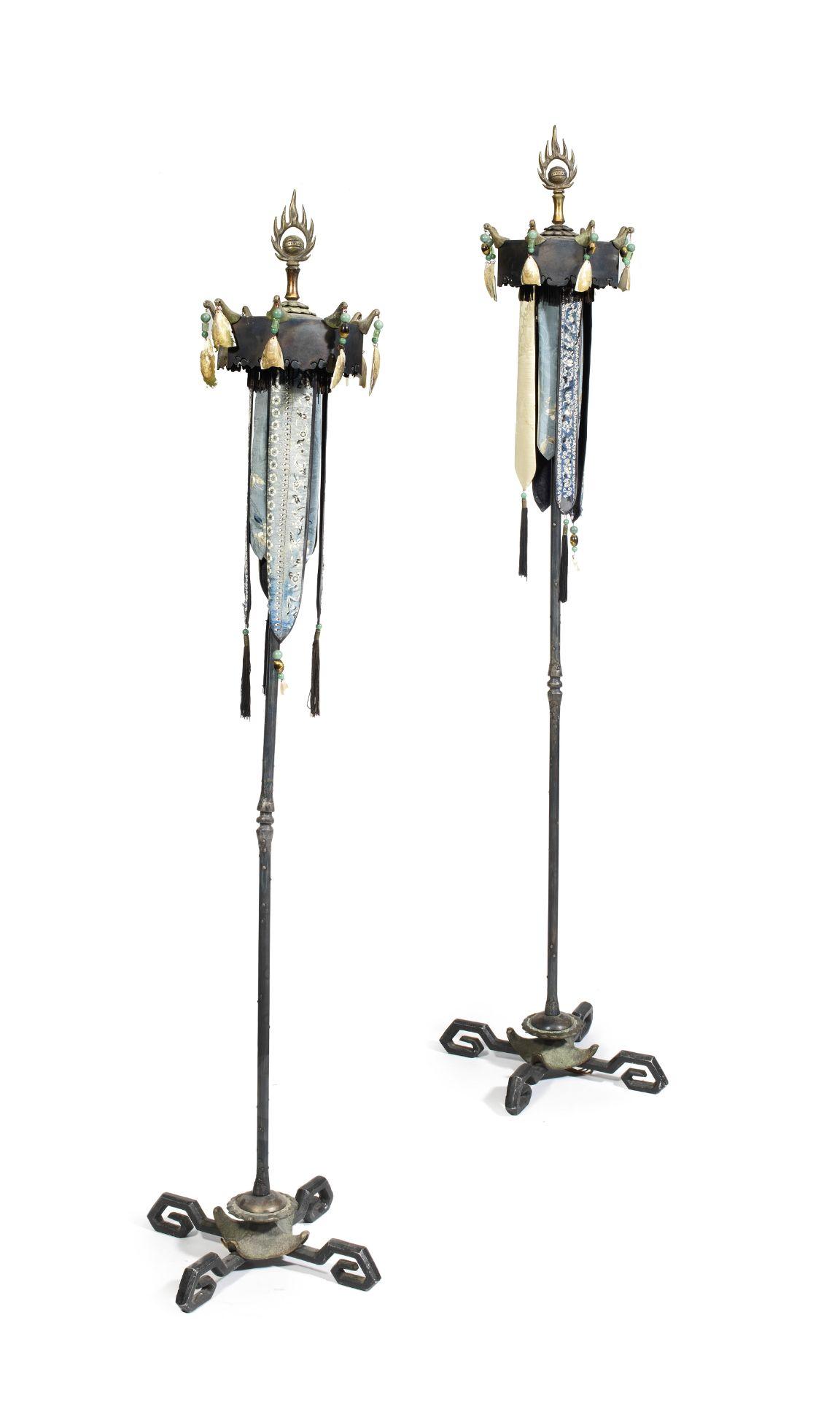 Mark Brazier-Jones (New Zealand, b. 1956): A pair of 'Ting' floor-standing lamps (2)