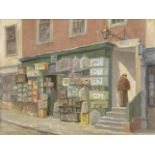 Charles Frederick William Dening (British, 1876-1952) Going cheep - The Old Pet Shop on the Horse...
