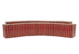 BINDINGS DICKENS (CHARLES) The Works, 40 vol. bound in 80, 'The National Edition', LIMITED TO 750...