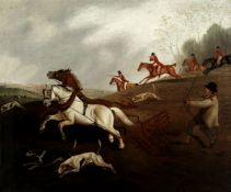 English School, 19th Century Call of the hunt