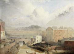 L. Evans, 19th Century 'View on Regent's Canal'