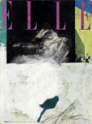 Richard Hamilton (British, 1922-2011) L is for Elle, 1967 Oil on offset lithographic magazine cov...
