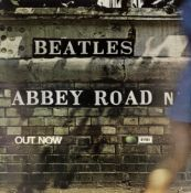 The Beatles An Original Promotional Poster For 'Abbey Road', 1969